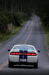Road Shot - Rear view